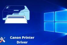 fix canon printer driver issue