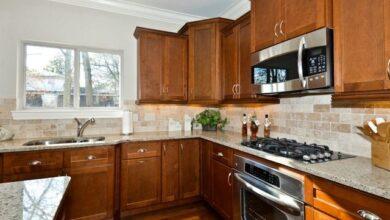 walnut-kitchen-cabinets
