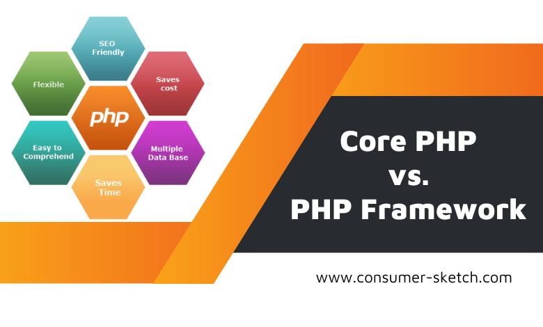 core-php-vs-php-framework1